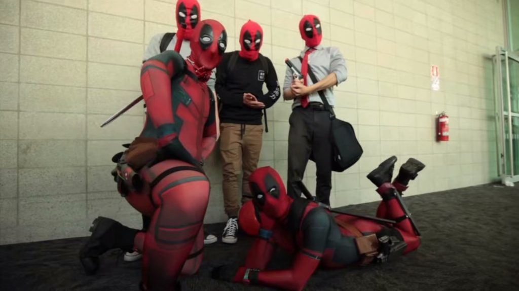 deadpool costumes cosplay
