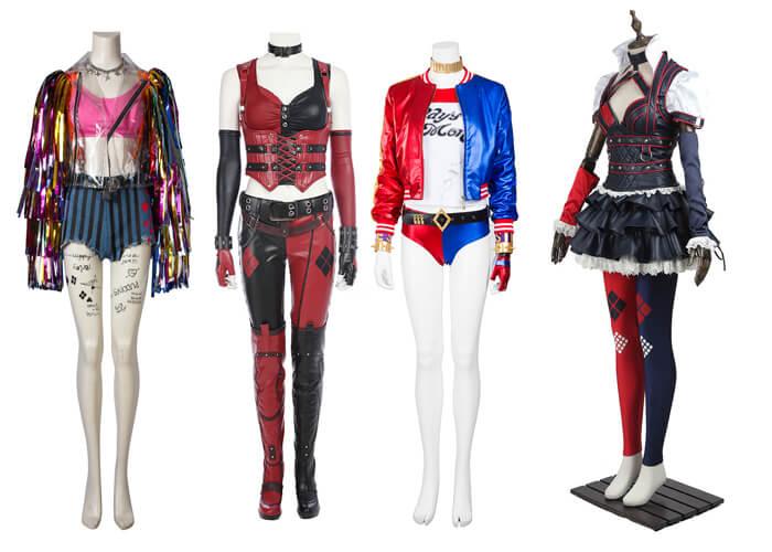 Harley Quinn Cosplay Costume